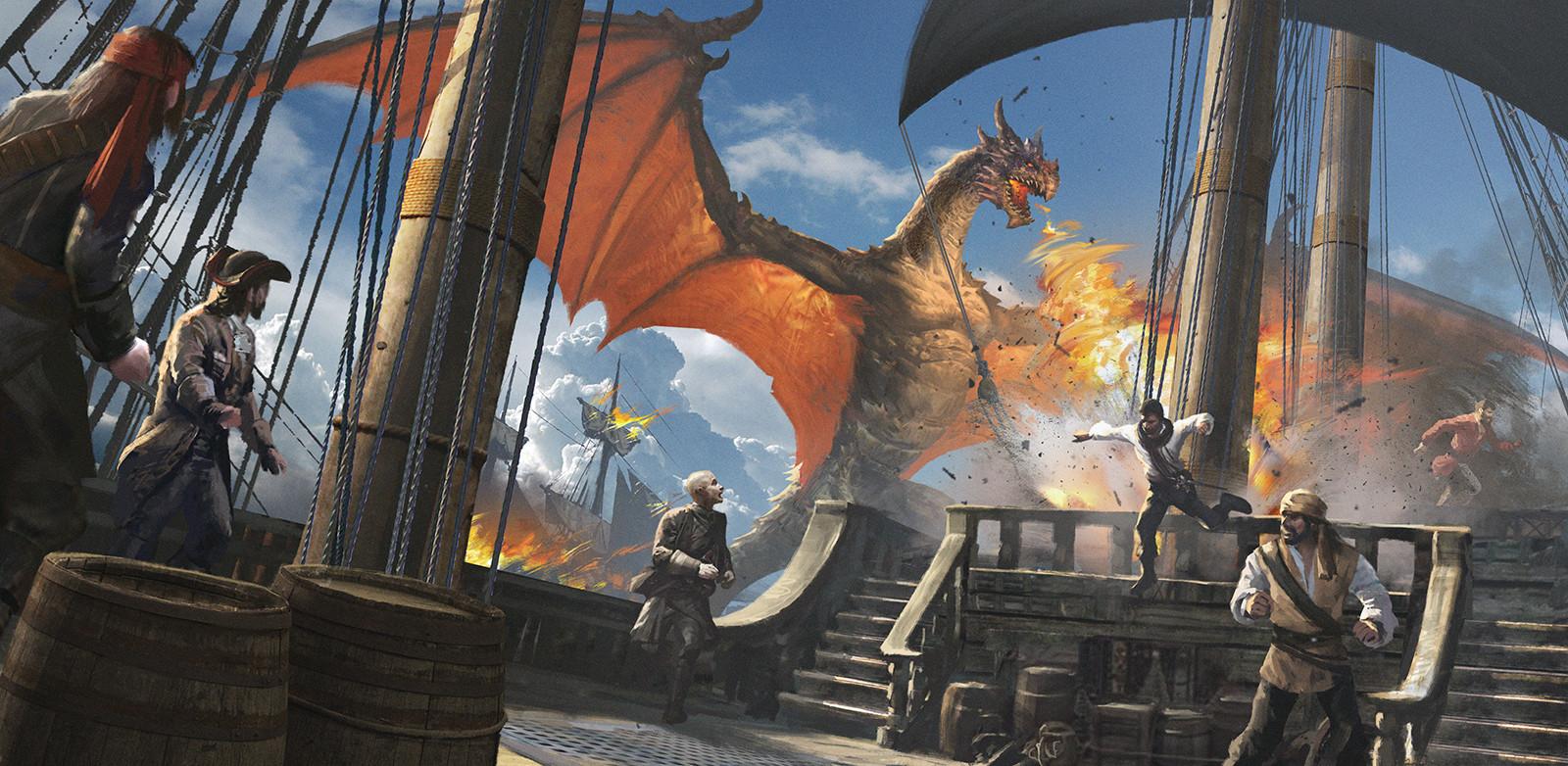Attack of Dragon
