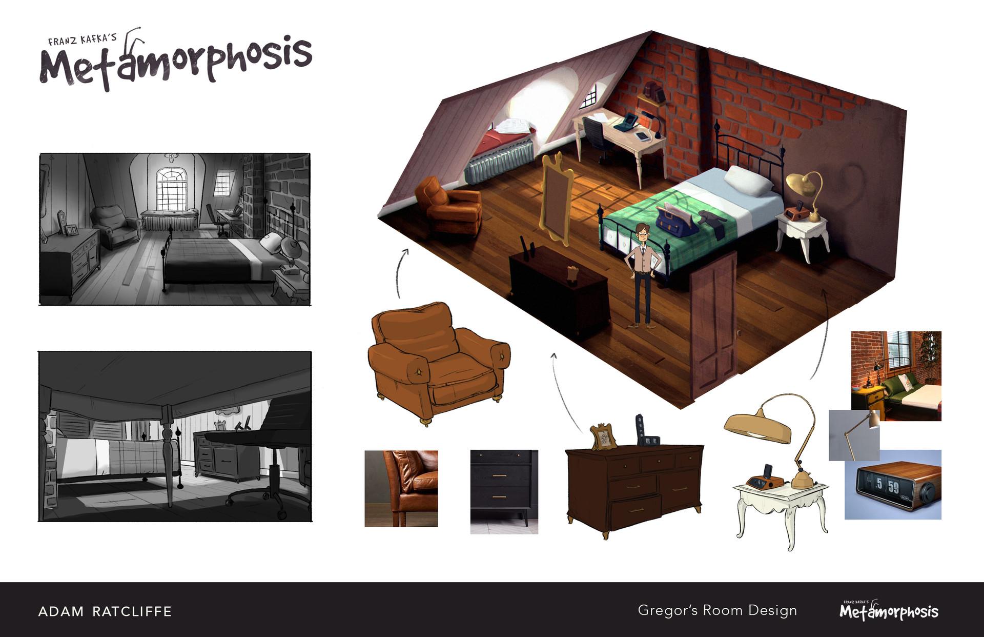 The Metamorphosis S Room