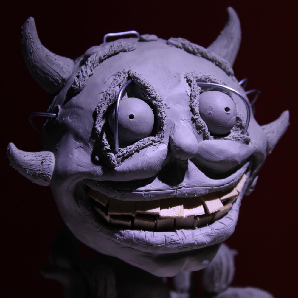 Rob mcdaniel 3dclay demon watch face