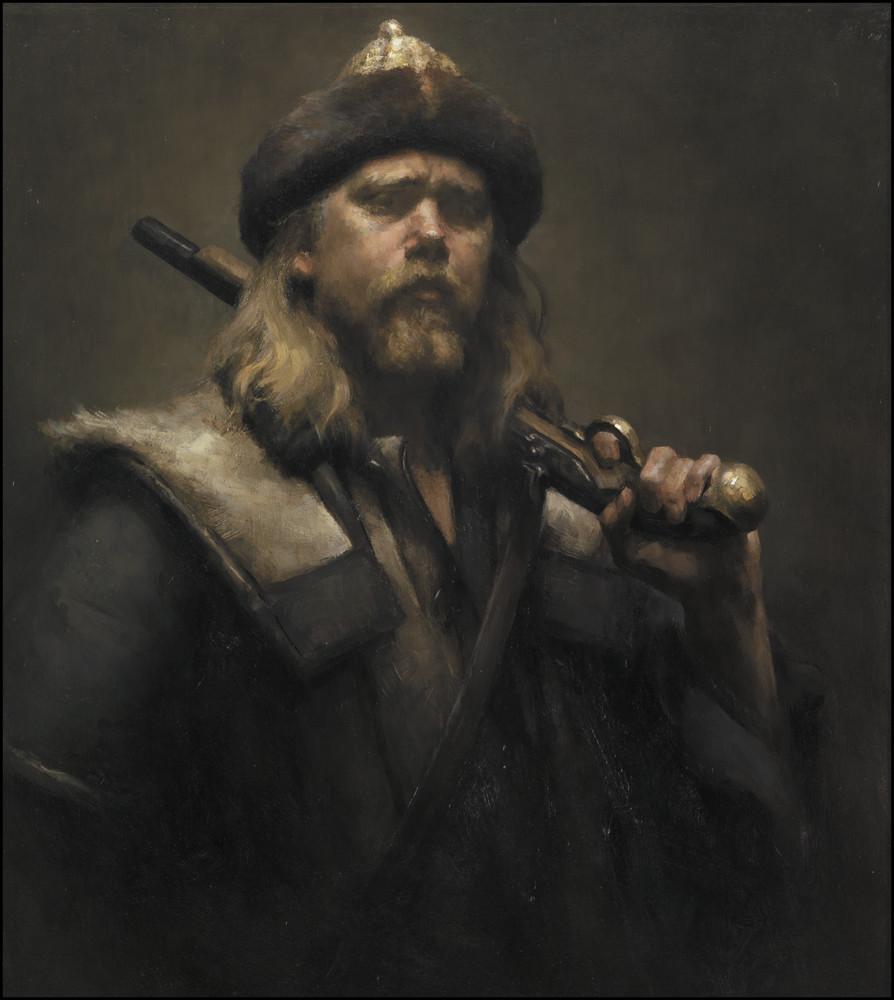 Selfportrait at War