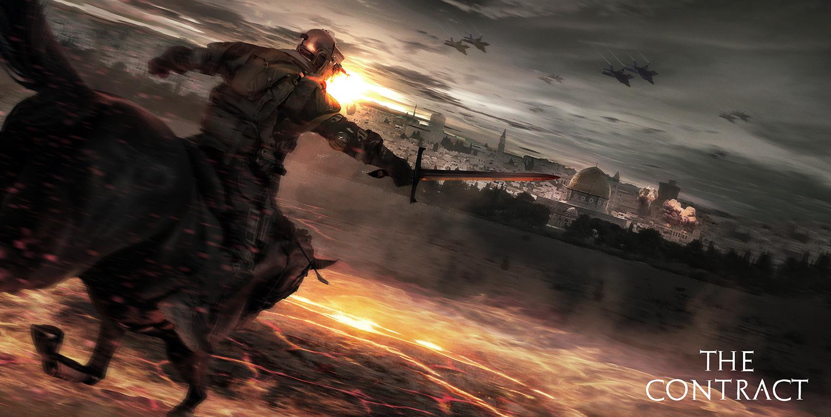 Joakim ericsson war apocalypse rider 3