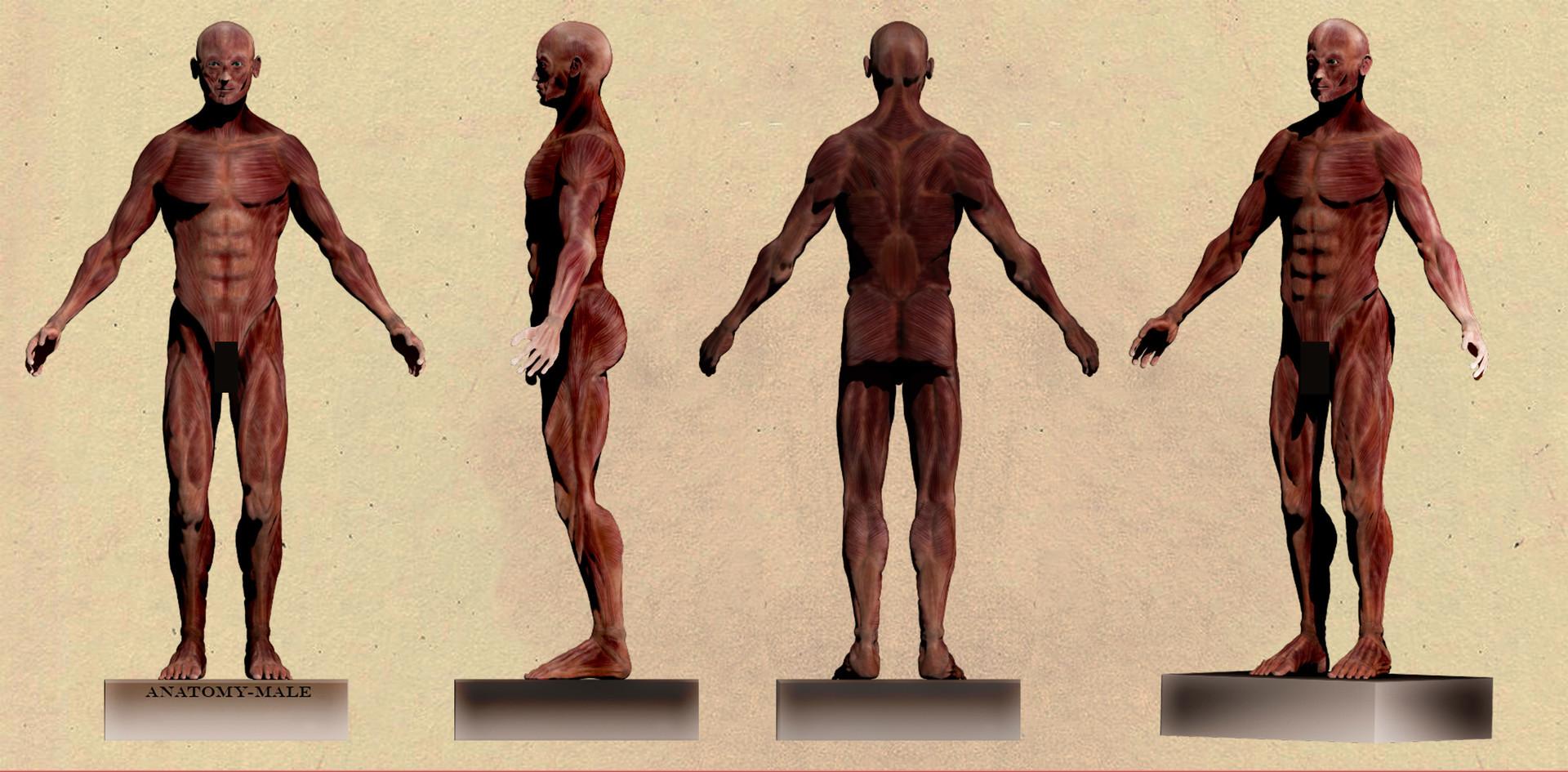 ArtStation - Model 3D, Mélanie GASTEBLÉ