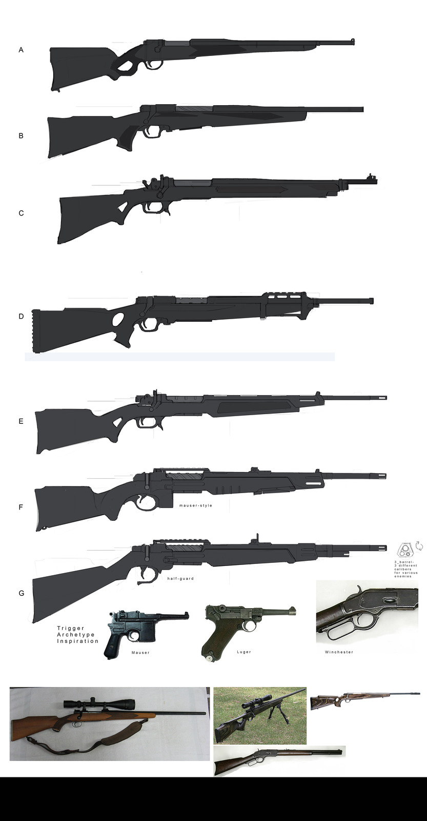 Rifle thumbnails