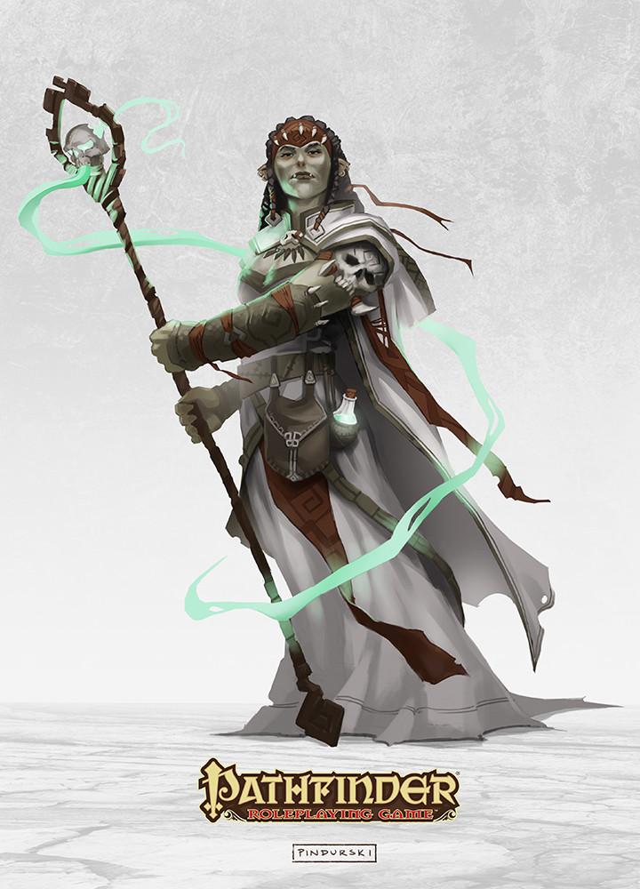 Hugh pindur pindurski pathfinder wizard white necromacer