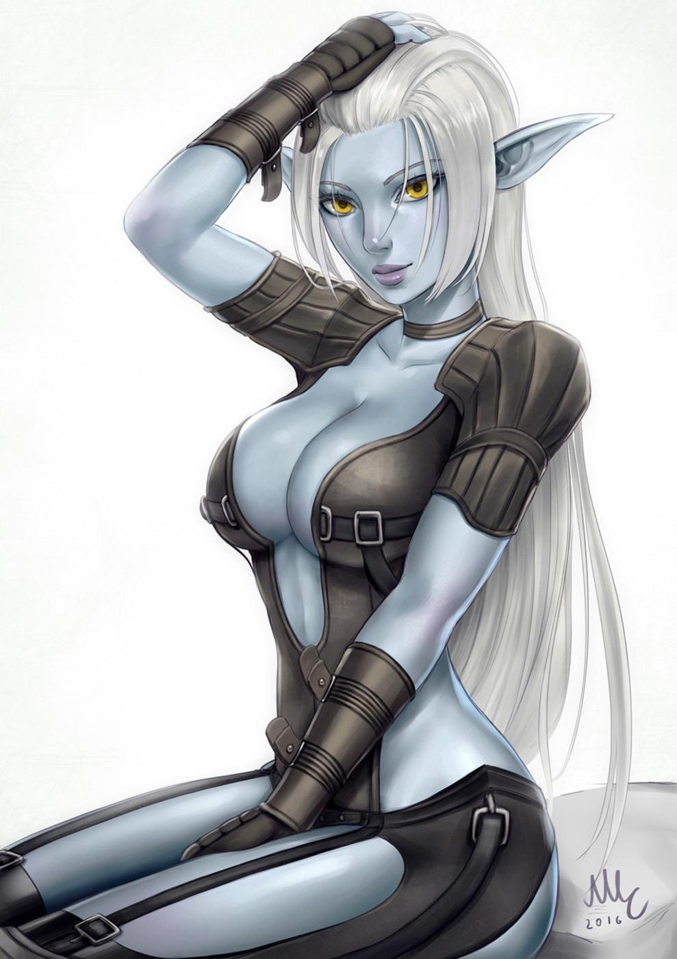 Artstation Dark Elf Lineage 2 Mirco Cabbia Sciamano240