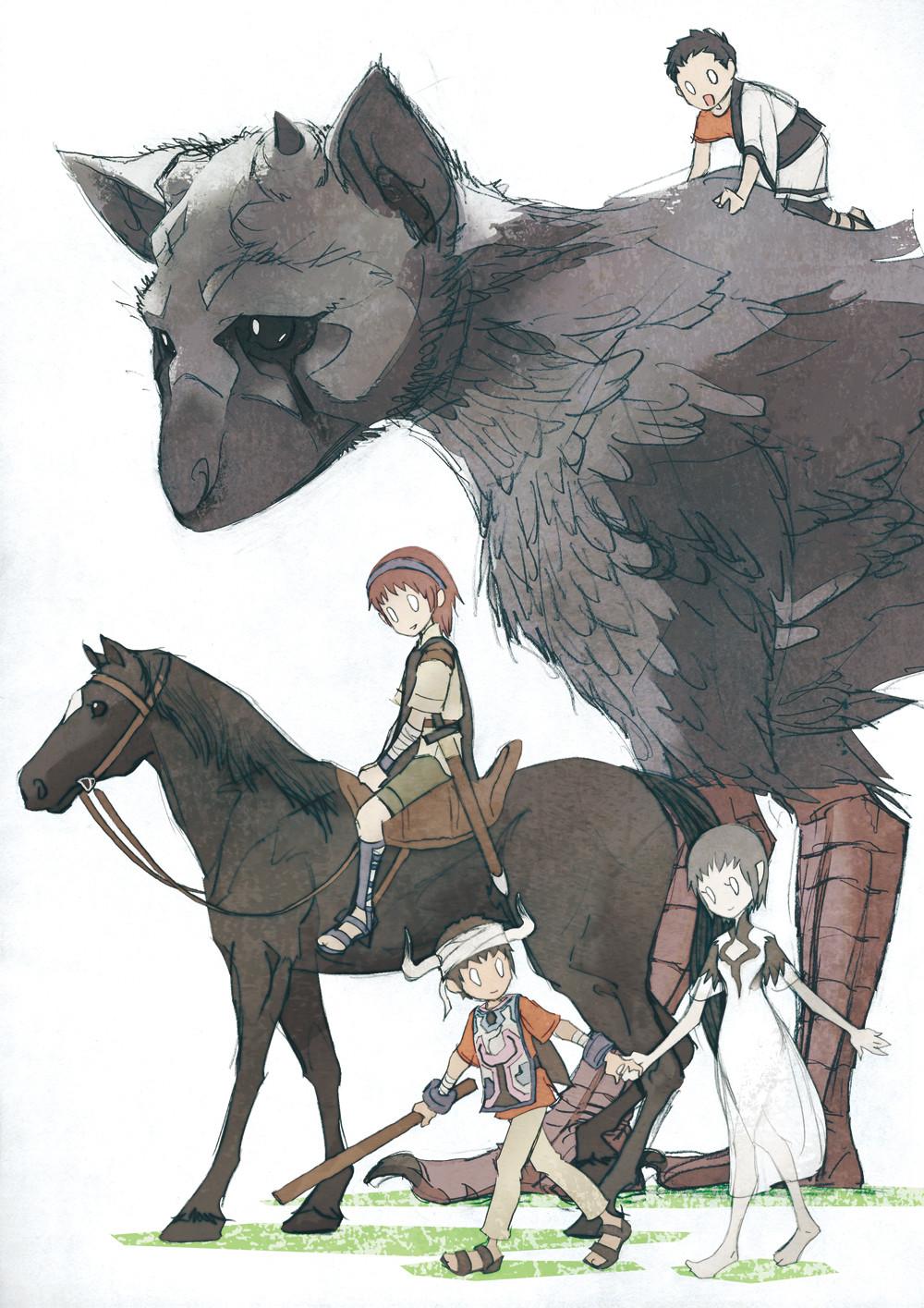 ArtStation - ICO & Shadow of the Colossus, Ikuya Nakamura