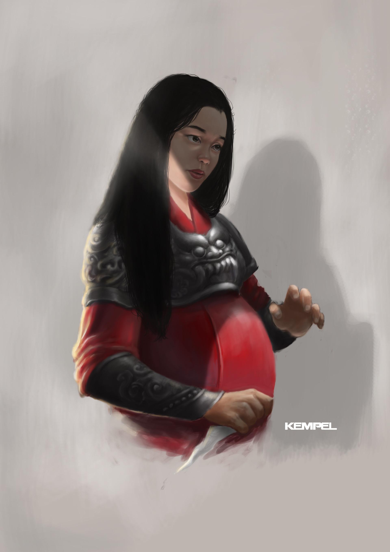 Taufiqurrahman hidayat pregnant fightback