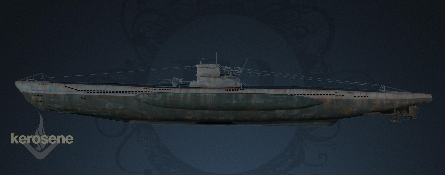 Marie sanginesi uboat side