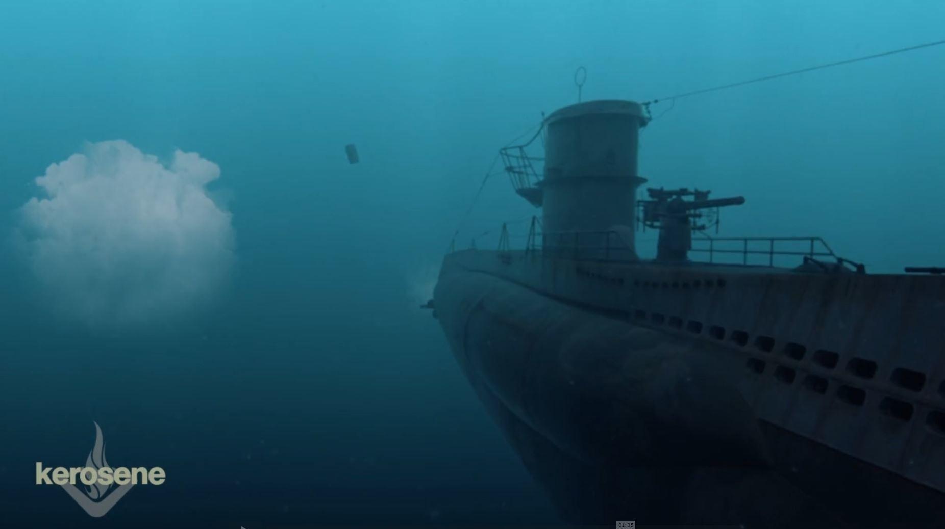 Marie sanginesi uboat footage02