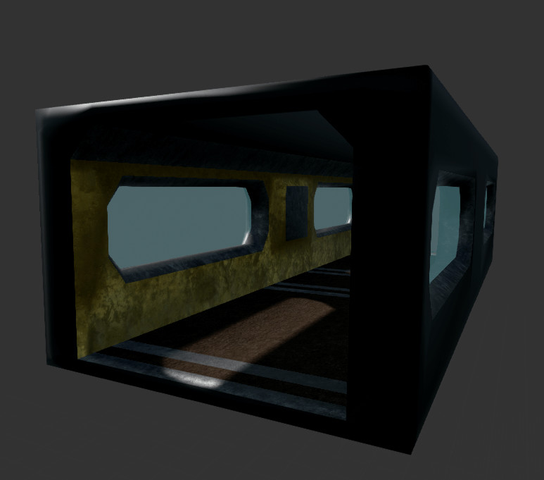 Bunny luny corridor element2