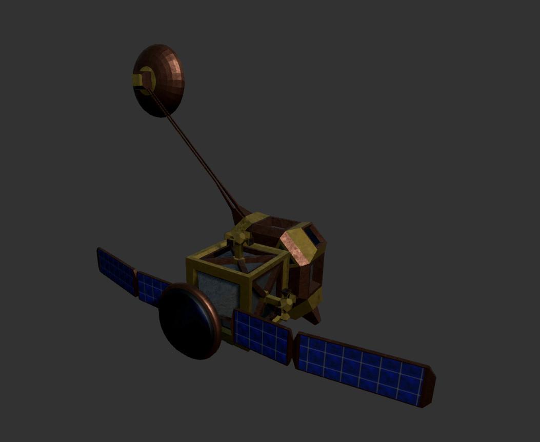 Bunny luny satelite transponder back2