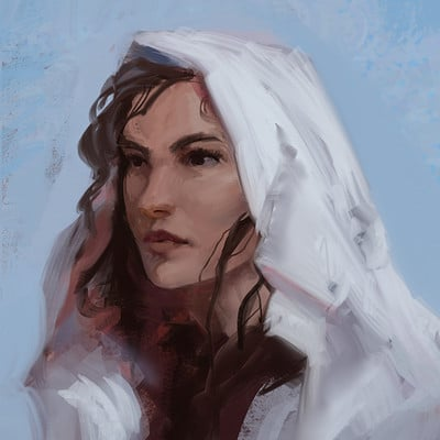 Sebastian horoszko 40 female portrait