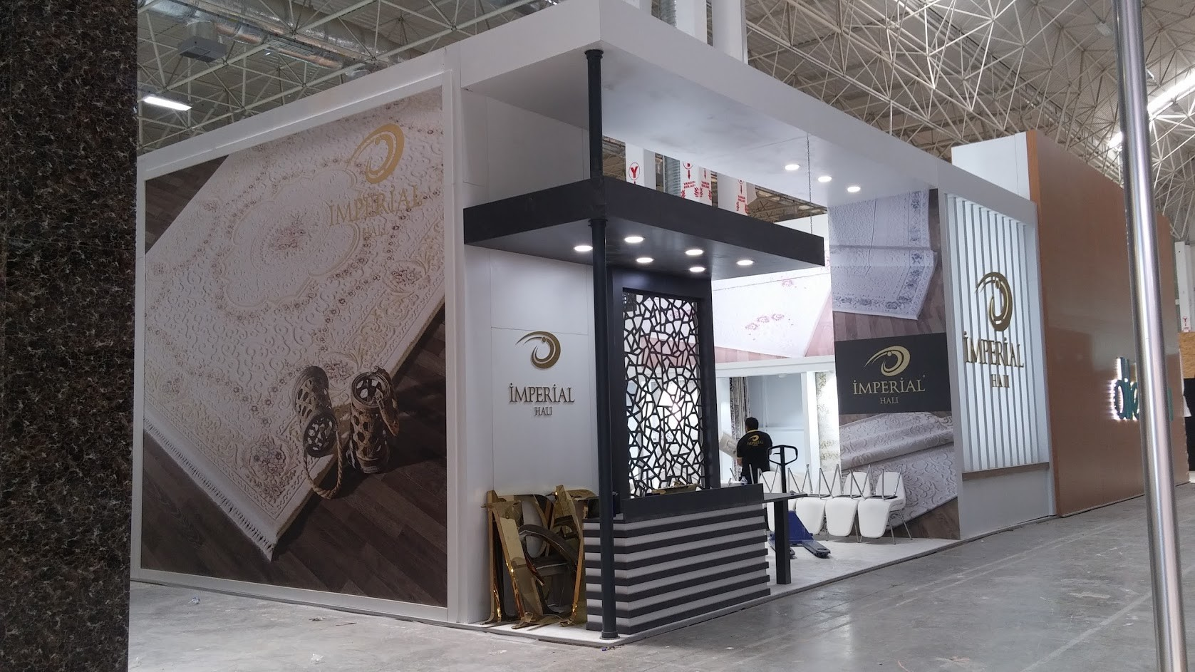 Exhibition Stand Carpet : Artstation exhibition stand design imperial carpet ozan sular