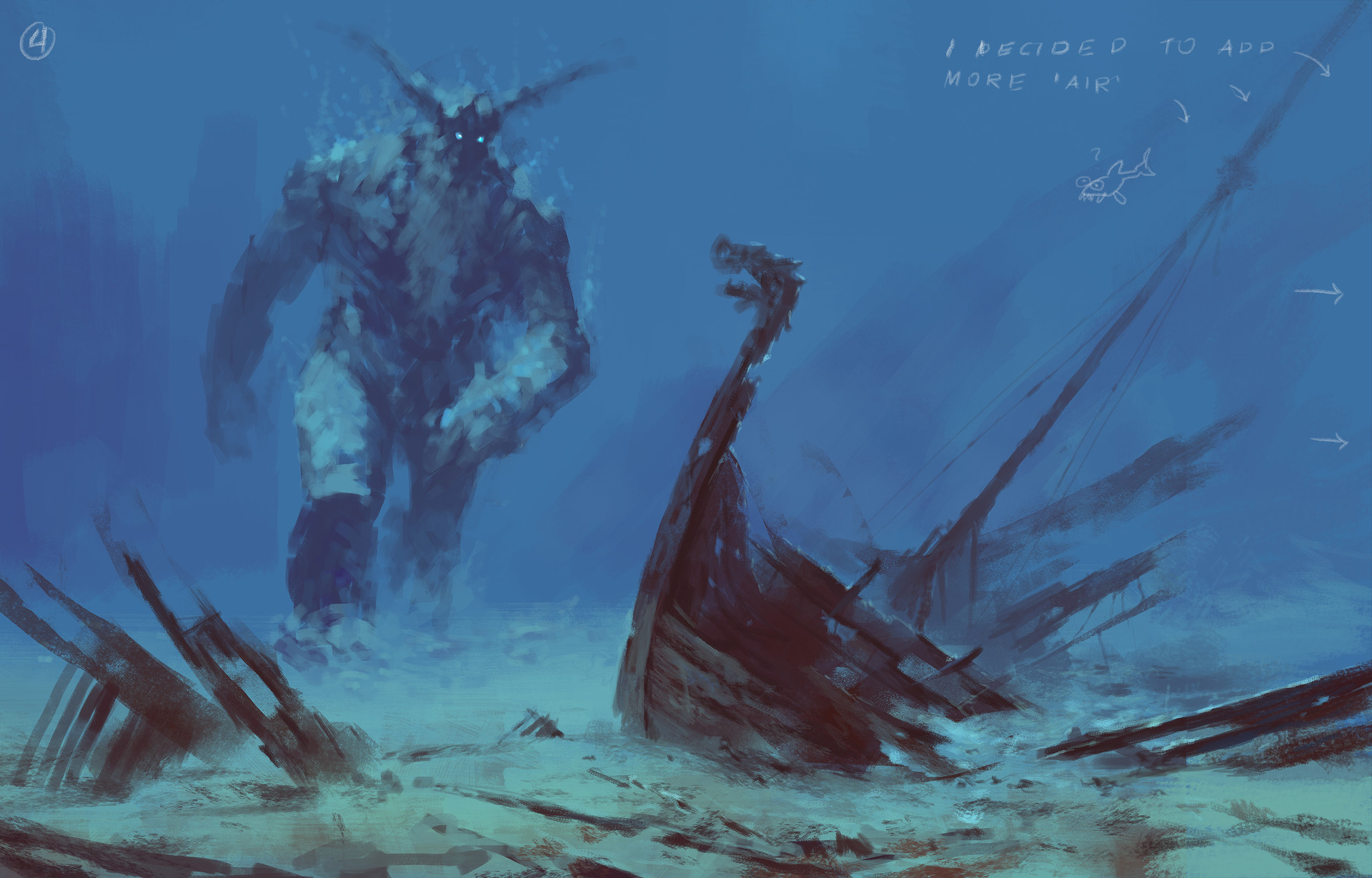 Jakub rozalski ancients conceptart 04process4