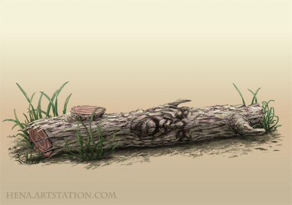 DSA: Enchanted Wood Log