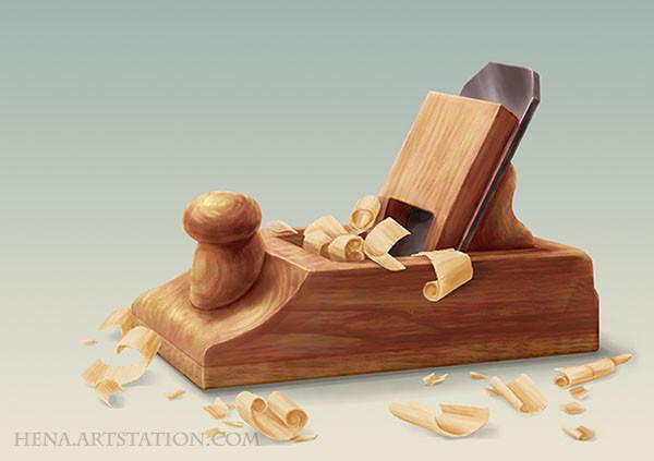 DSA: Wooden Plane