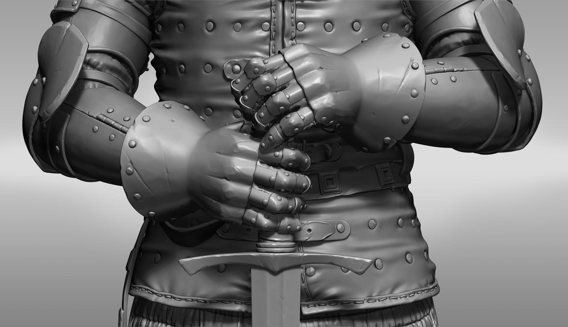 Petr sokolov artpity knight hp gloves
