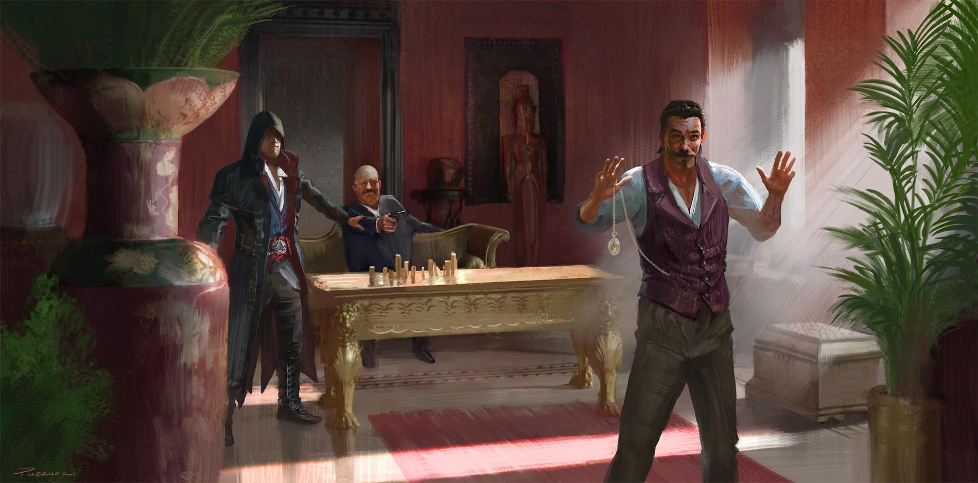 Hugo puzzuoli gangsters meeting small hpuzzuoli