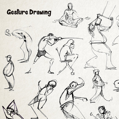 Mj venegas spadafora gesture drawing