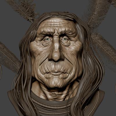 Sioux sculpt