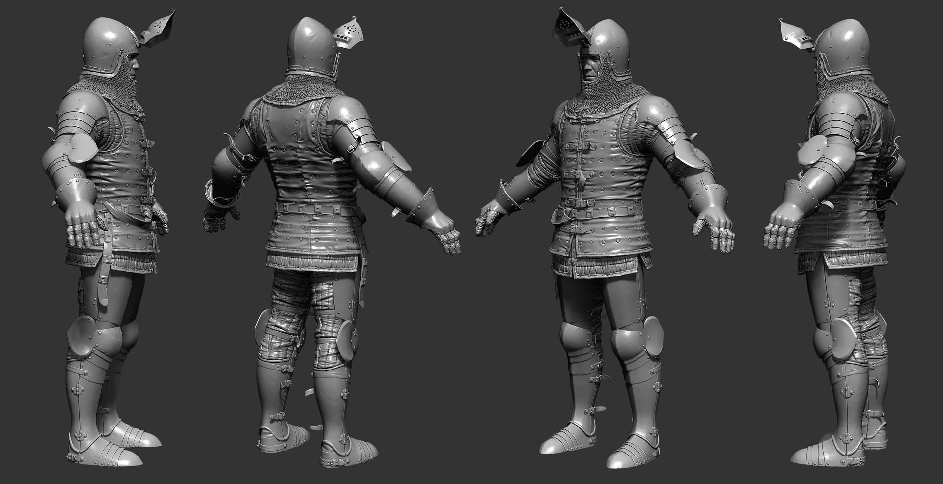 Petr sokolov artpity knight tpose sides