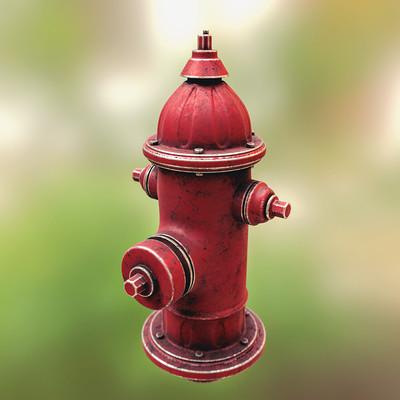 Joao paulo fire hydrant 3dcoat