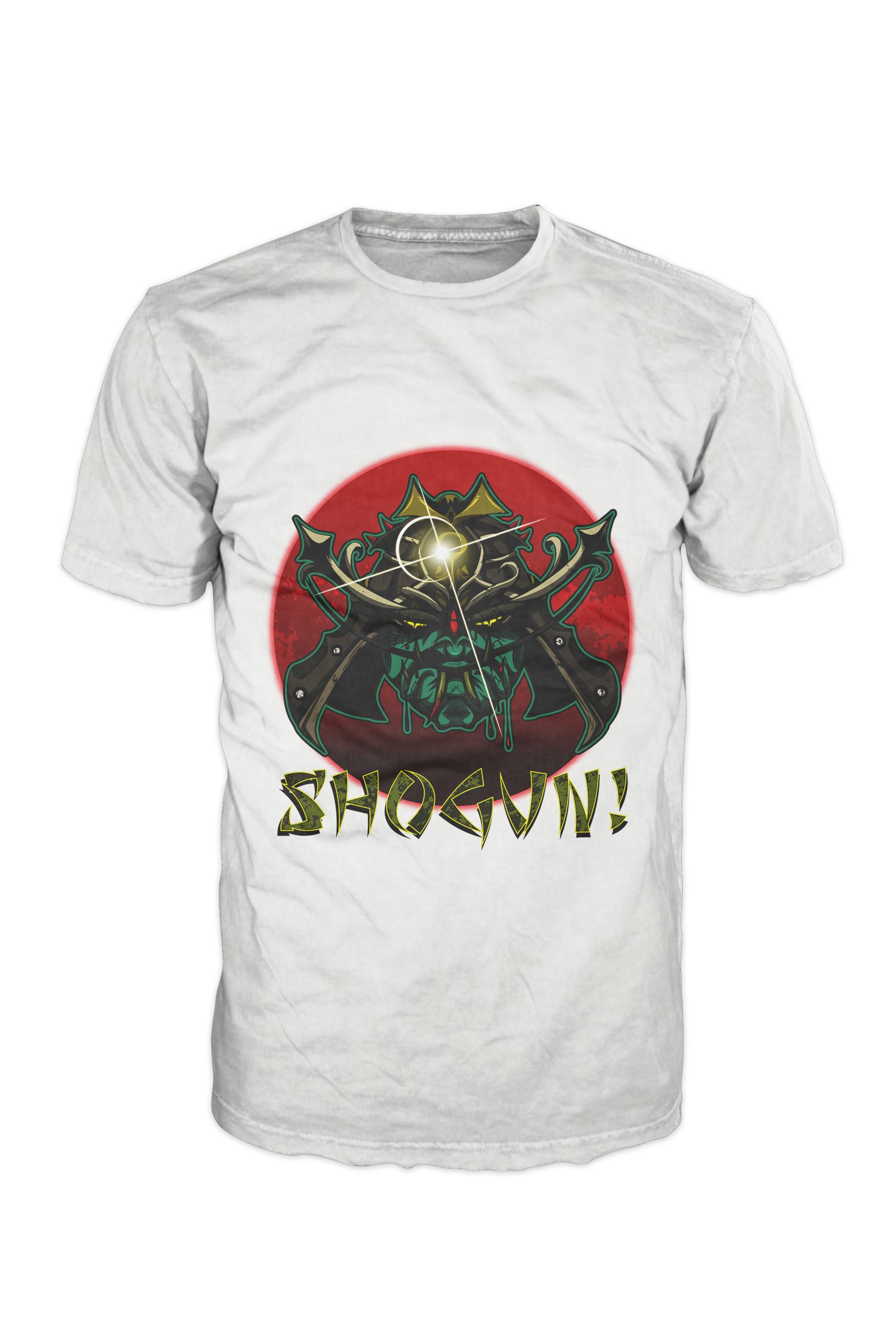 Nathaniel scramling shogun shirt