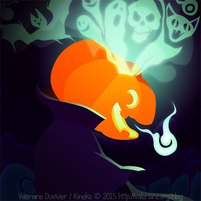 Valeriane duvivier small ahuri halloween