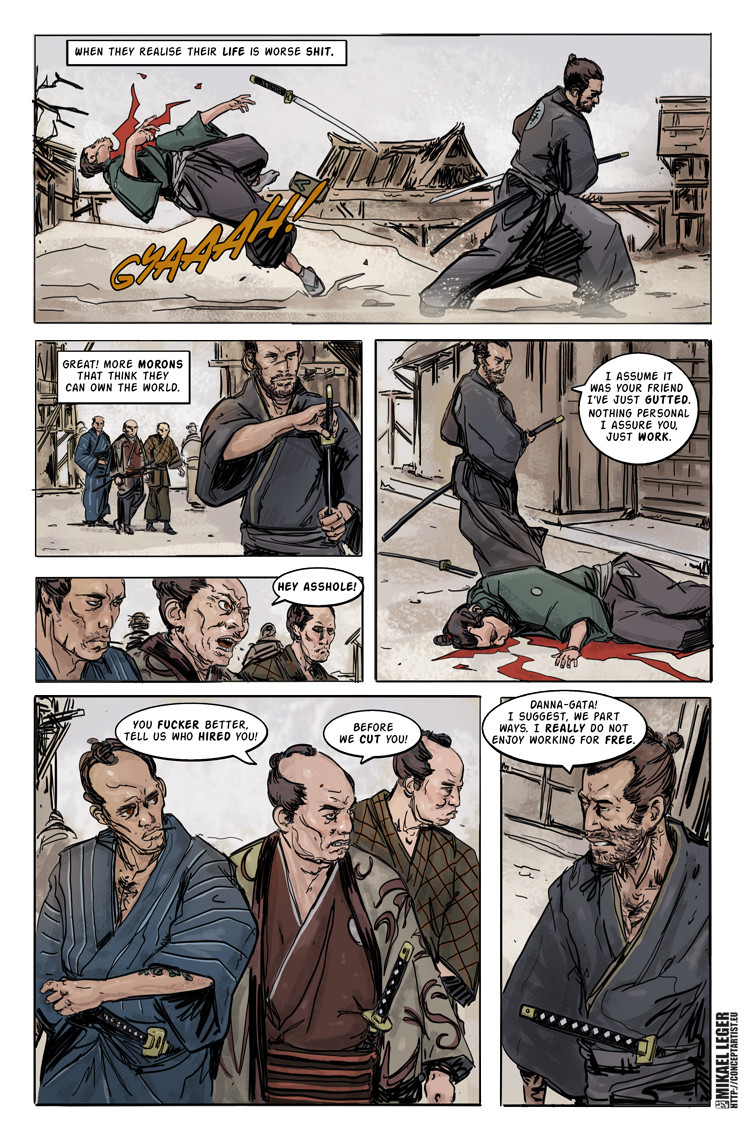 Mikael leger kaito page 2 colors web