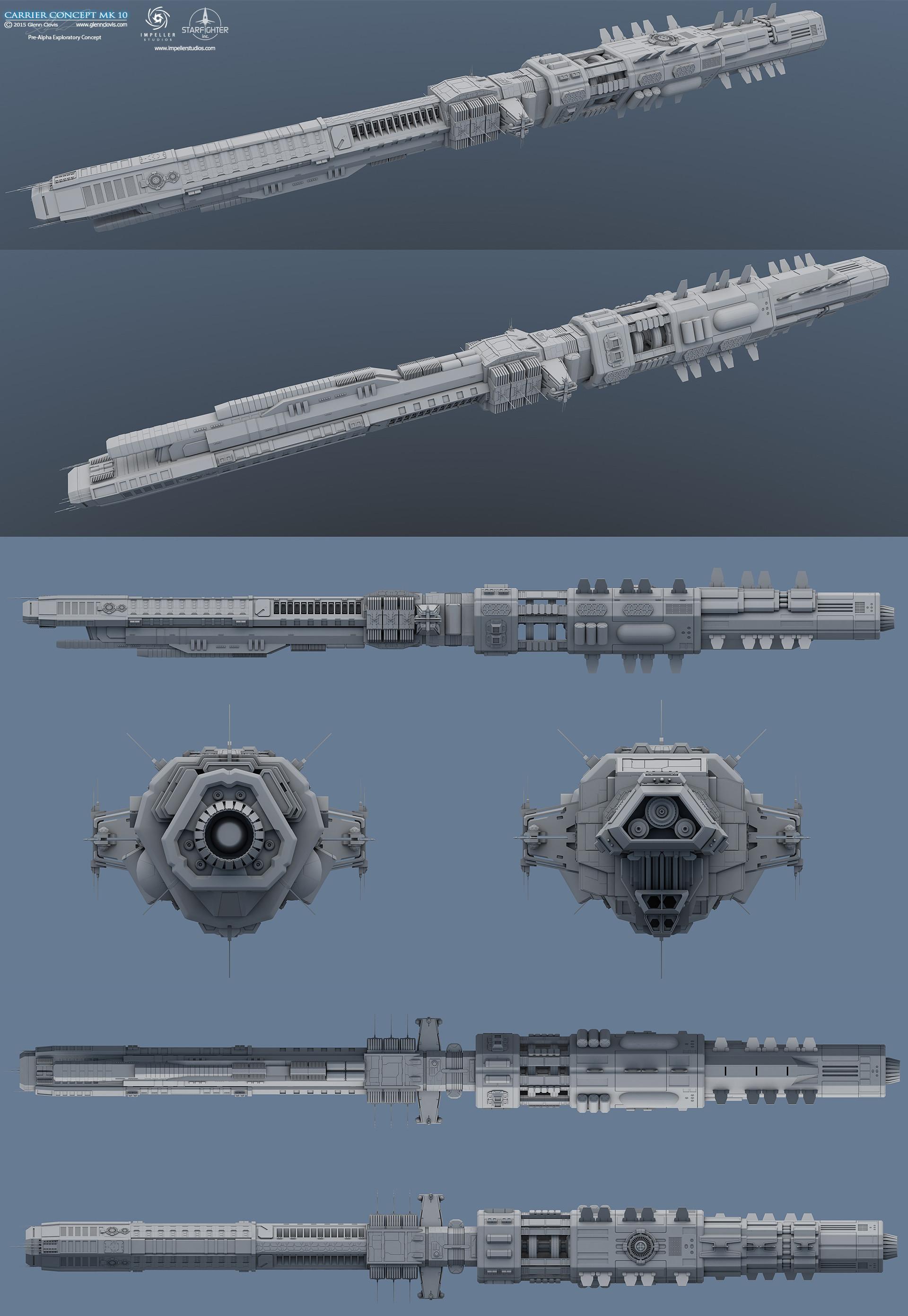 Glenn clovis carrier concept mk10 by glennclovis