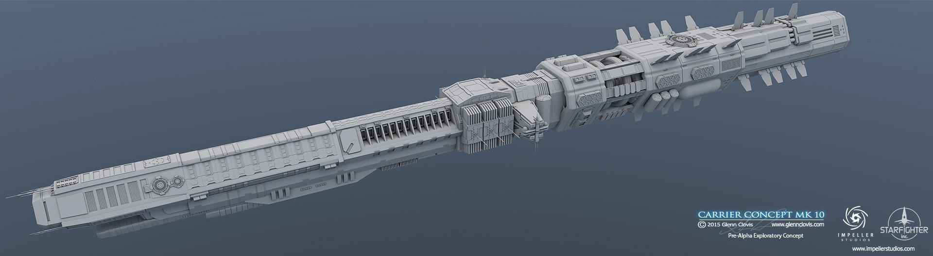 Glenn clovis carrier concept mk10 hdr by glennclovis
