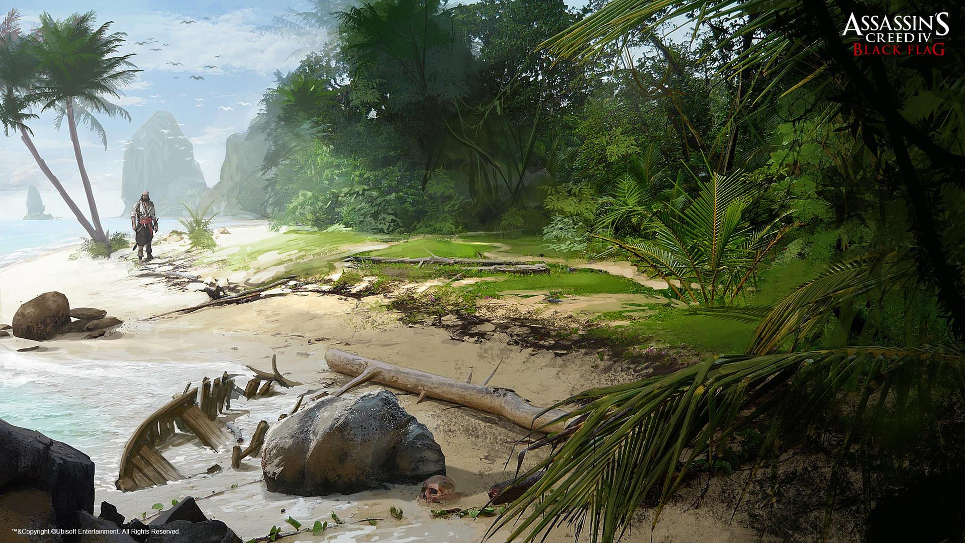 Artstation Assassin S Creed Black Flag Grant Hillier