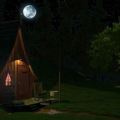 Thomas fraser night cabin