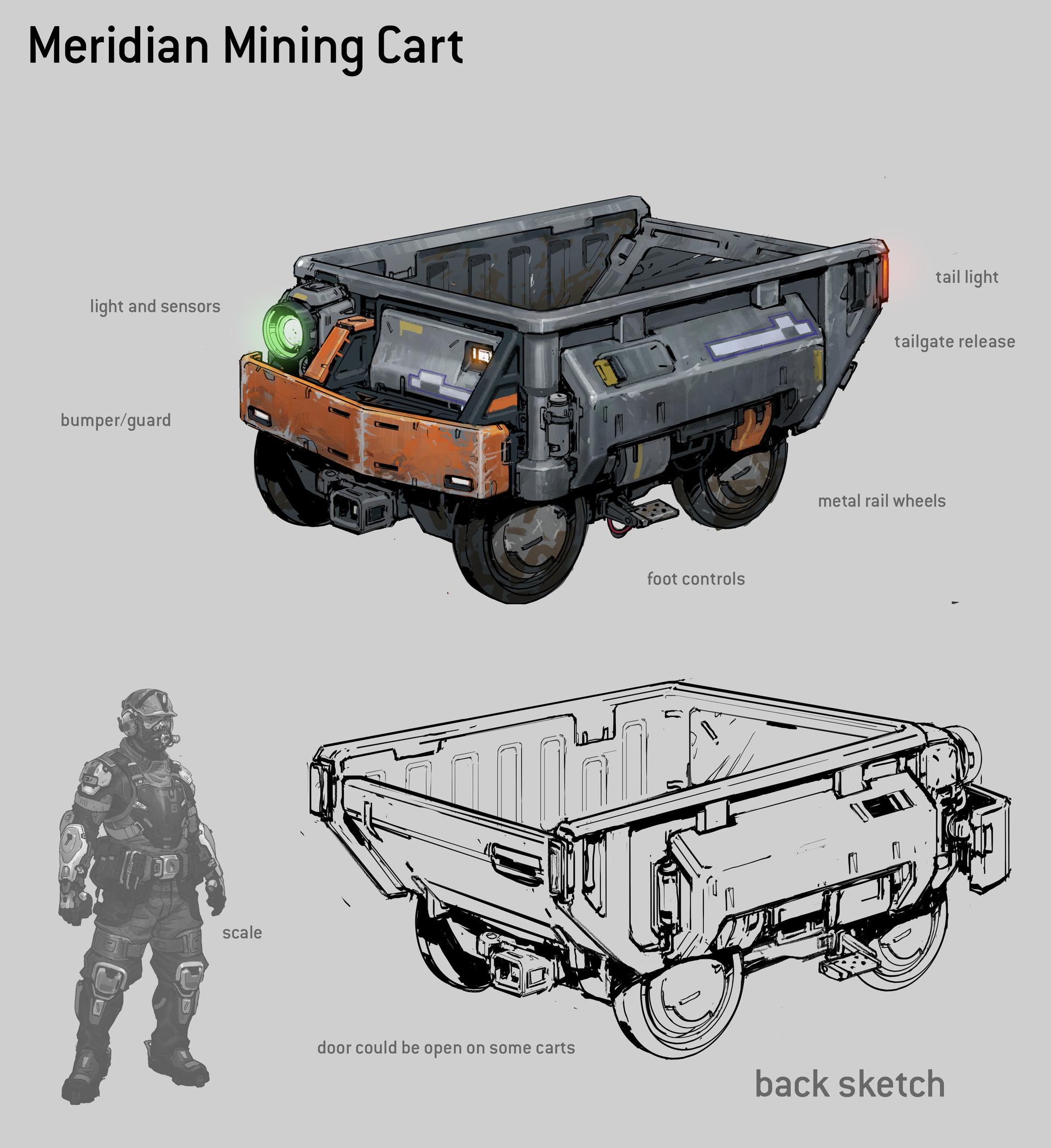 Kory hubbell mining cart