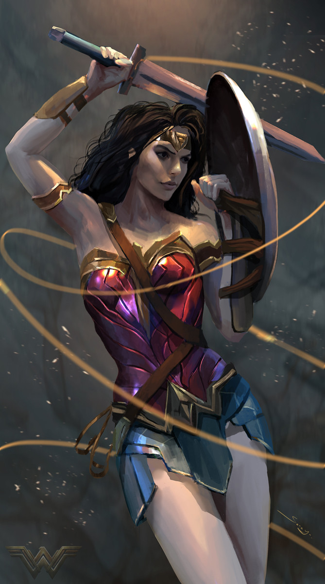 Sarayu ruangvesh wonder woman