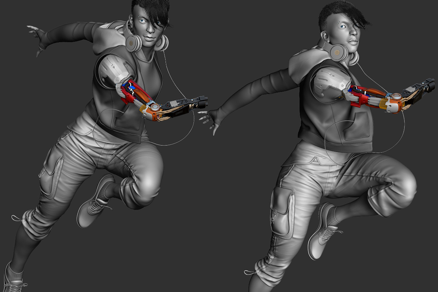 Working sculpt Zbrush