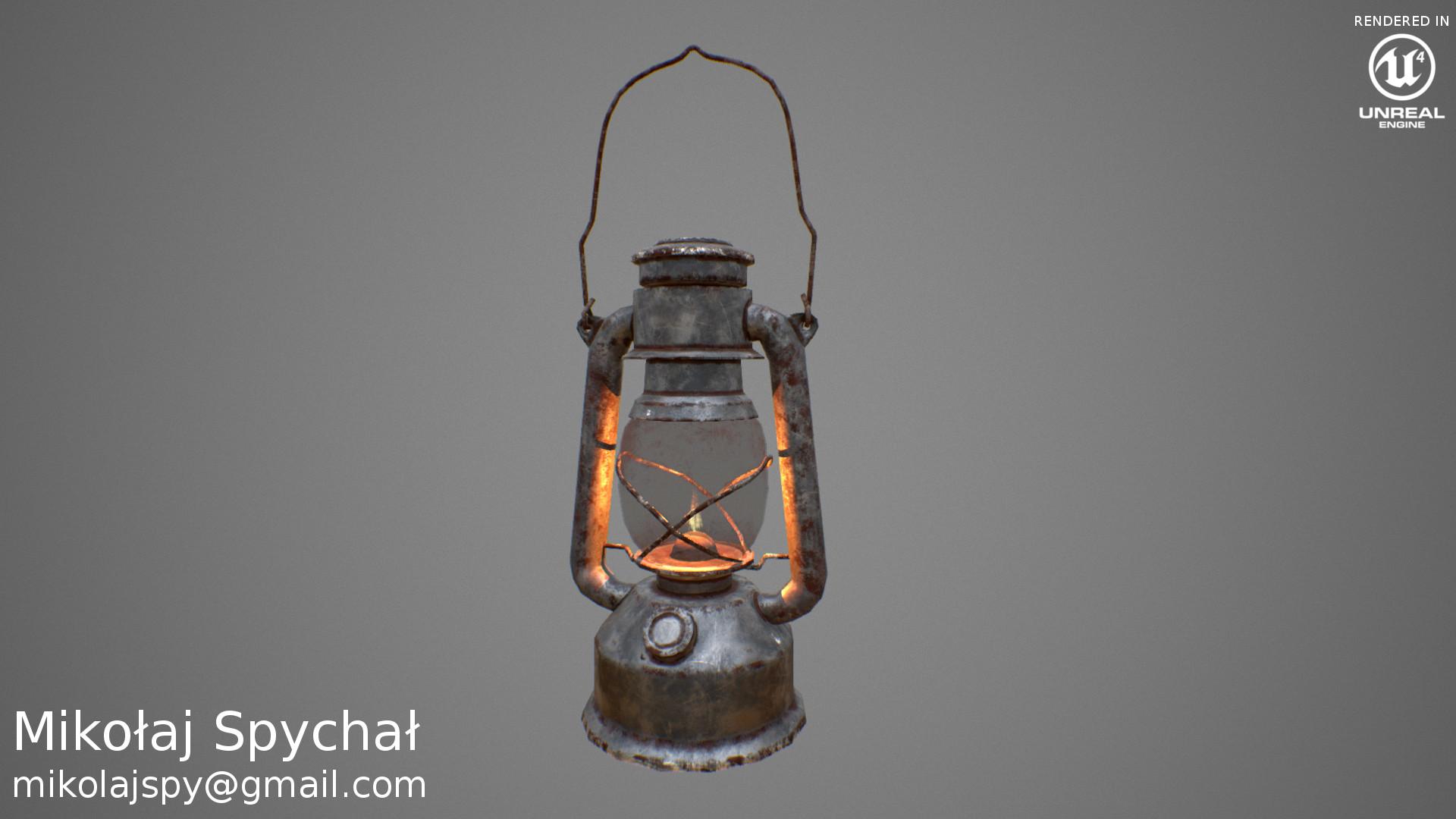 Mikolaj spychal oillamp portfolio