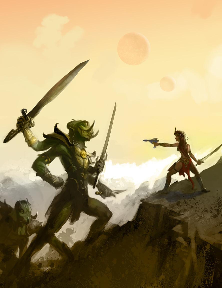 Confronting Green Men