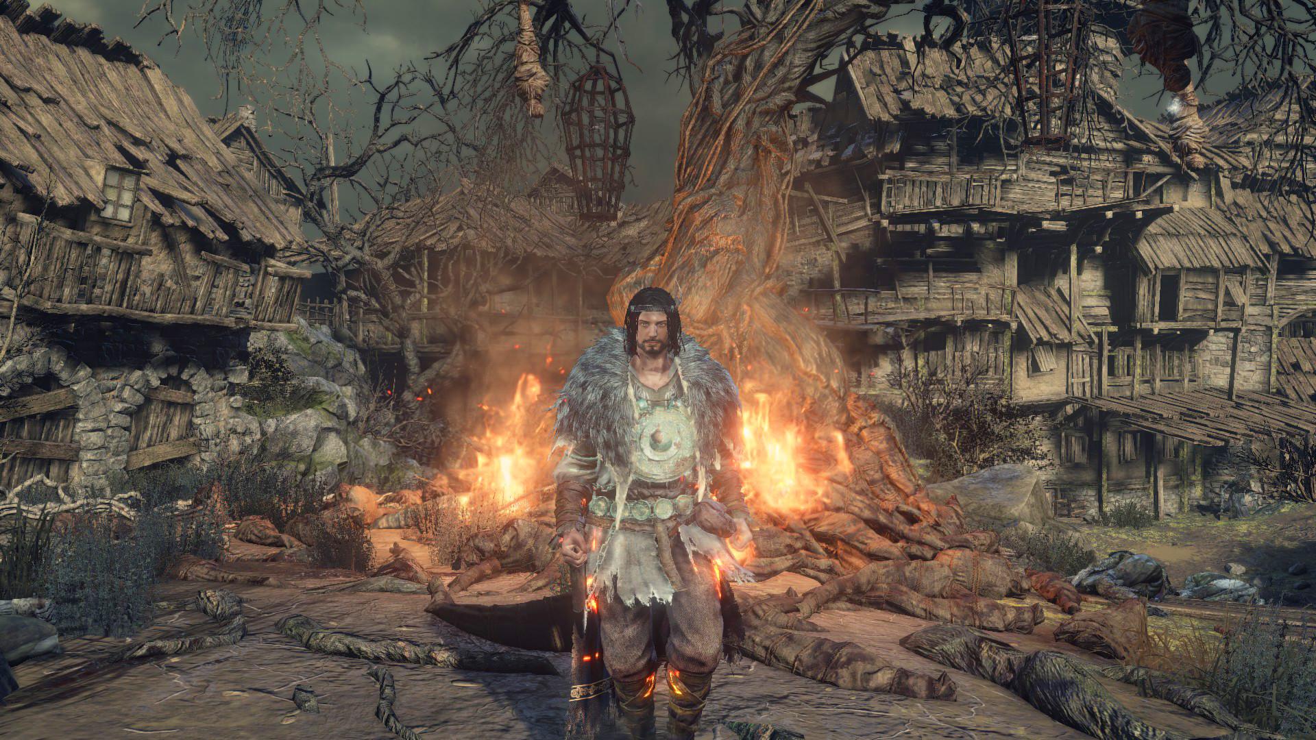 Wei Kang Lim - Dark Souls III - Pyromancer Armor Set