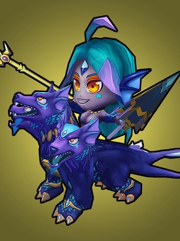 3D character game art - Suquira monster