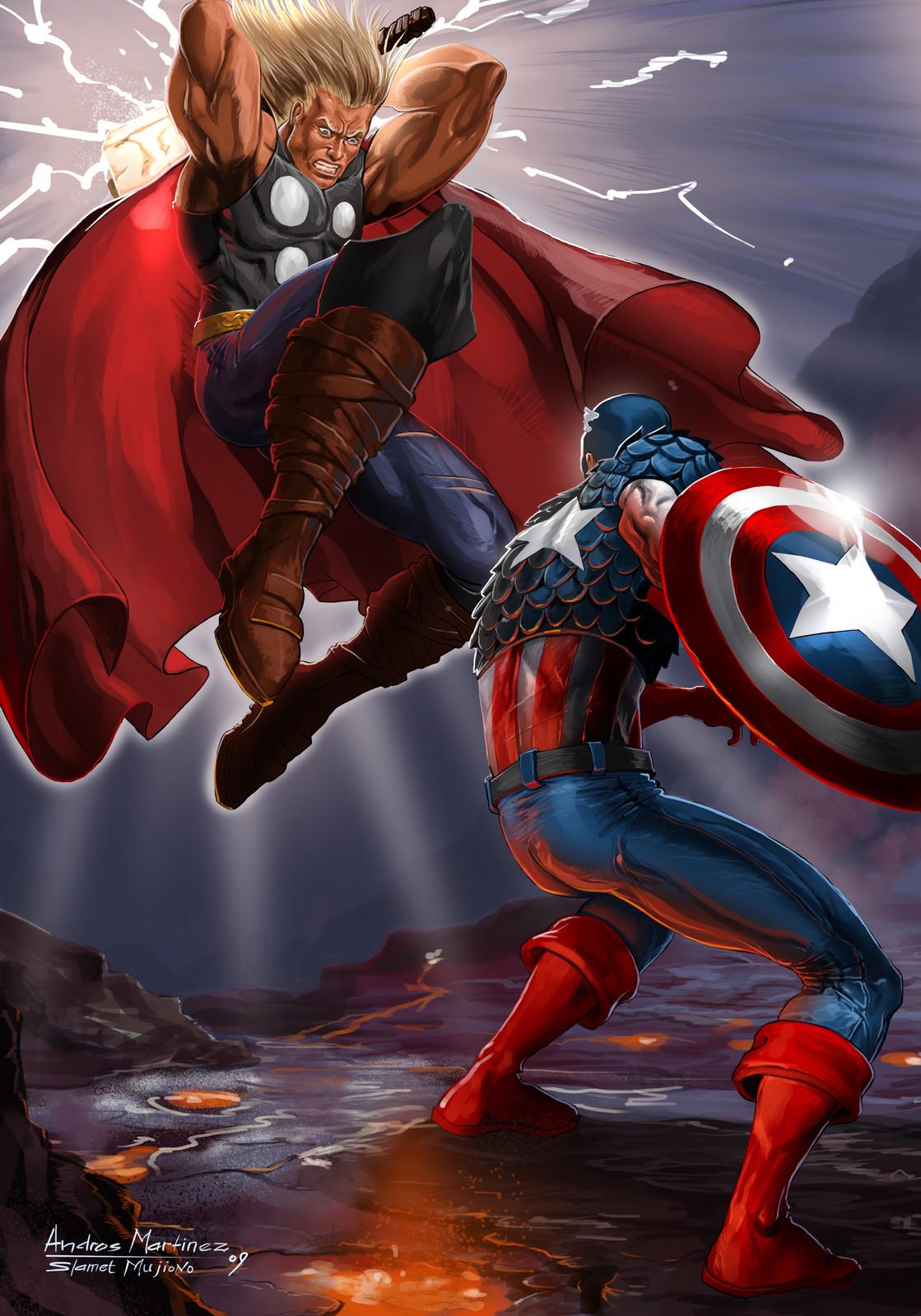 Thor vs Steve