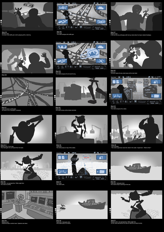 digital storyboard
