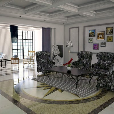 Fernando henrique living room