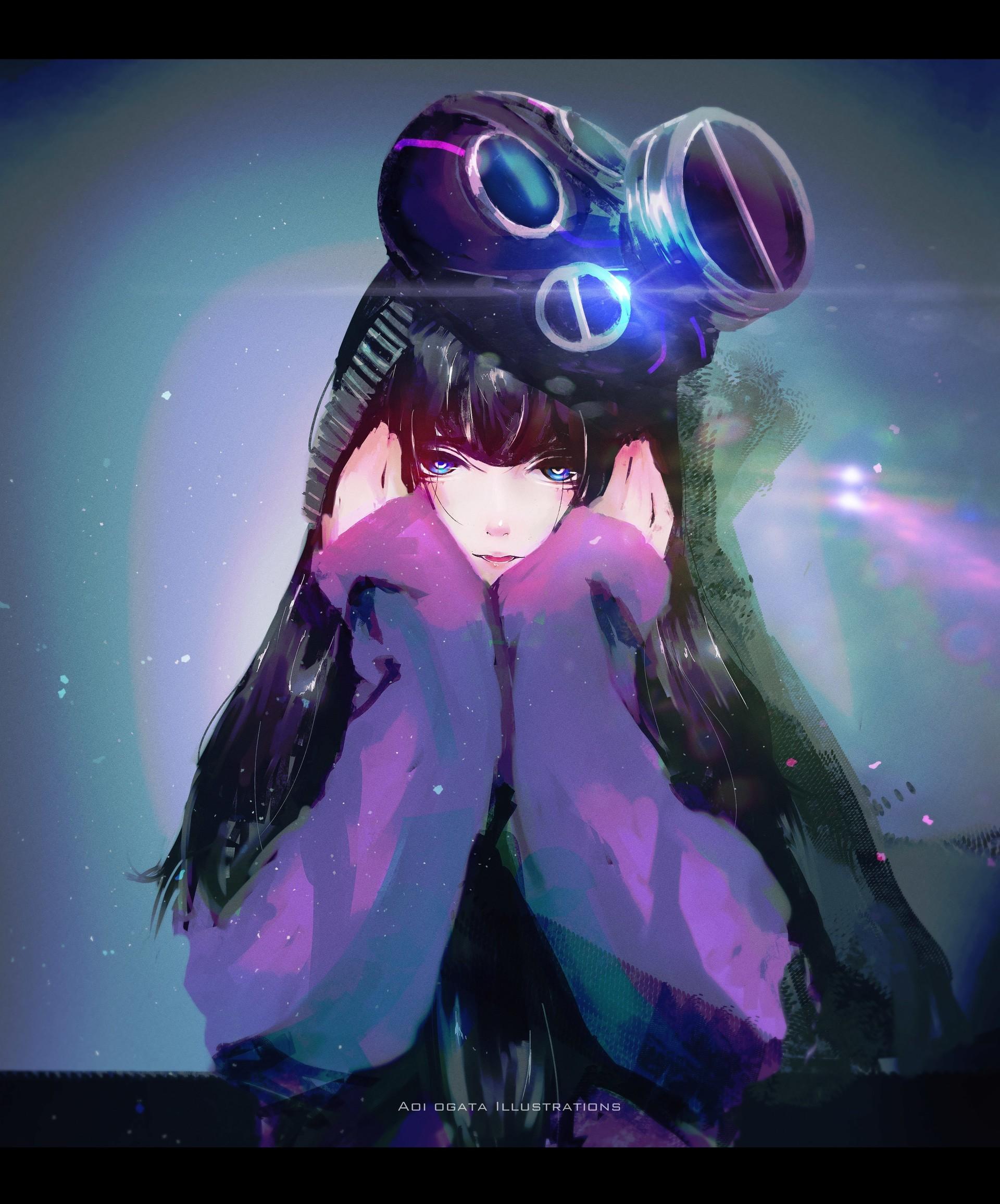 Aoi ogata purple low