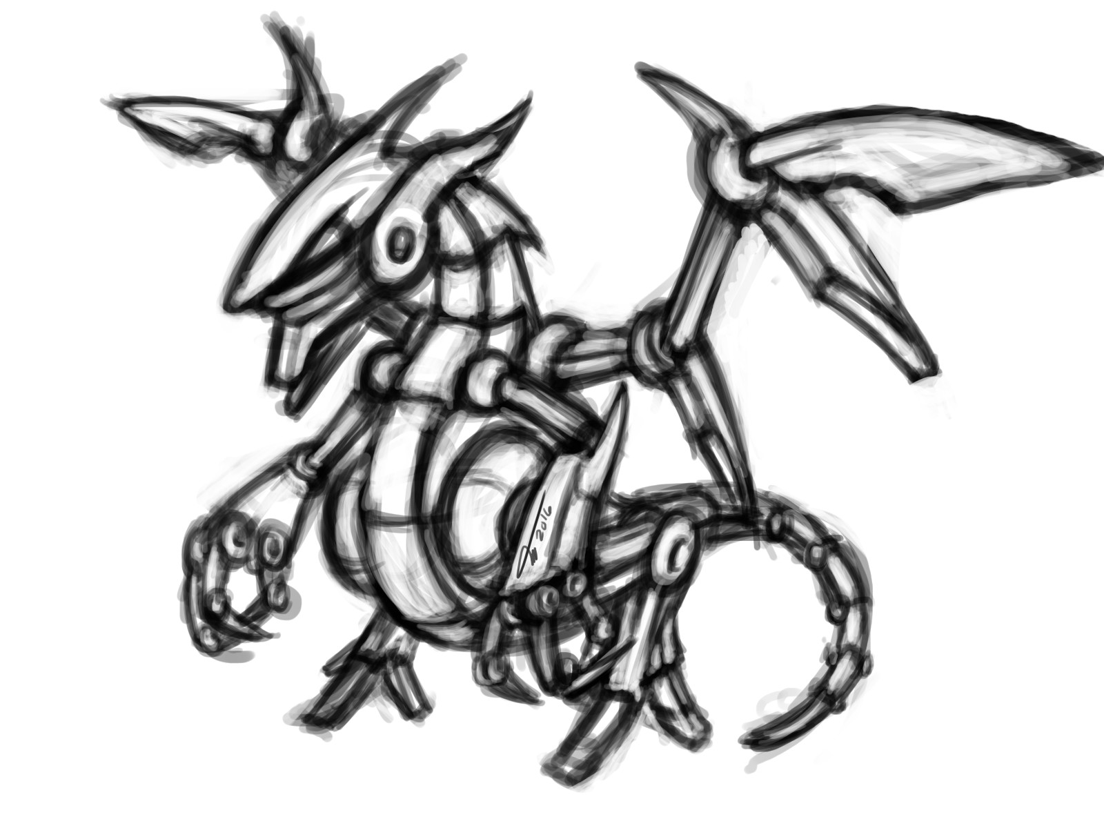 Arcadeous phoenix dragomech