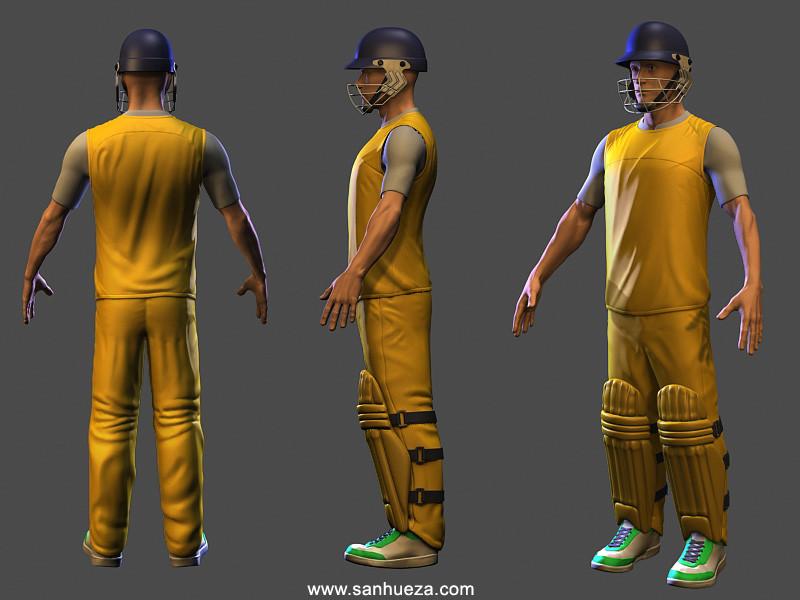 David sanhueza sanhueza cricket wip01