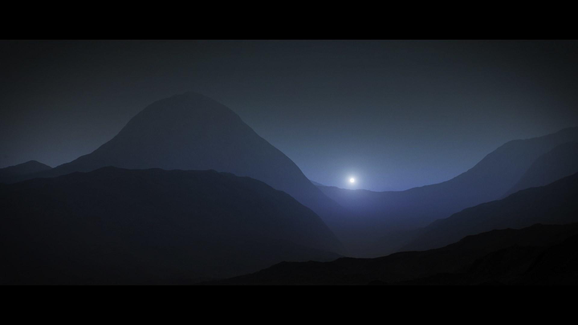 Mars sunset timelapse
