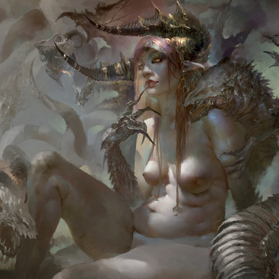 Christian angel eve of lust cg society