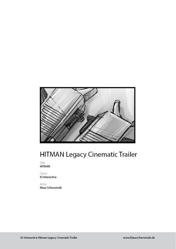 Klaus scherwinski hitman storyboards legacy trailer