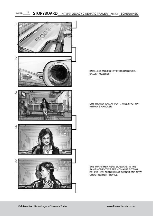Klaus scherwinski hitman storyboards legacy trailer12